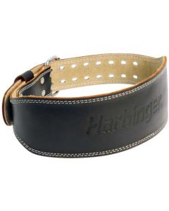"Harbinger 4"" Padded Leather Belt"