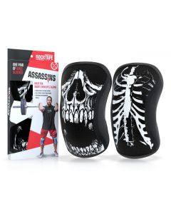 Rocktape Knee Sleeves - Skull Assassins - 7mm