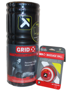 Trigger Point Grid X Roller and MBX Massage Ball Set