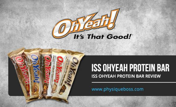 ISS OhYeah Protein Bar Review