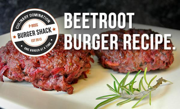 Beetroot Burger Recipe | High Protein, Low Carb & Delicious!