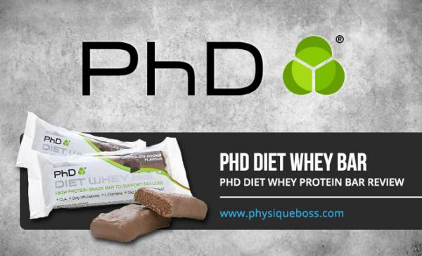 PHD Diet Whey Protein Bar Review