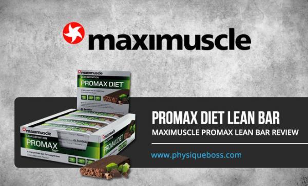 Maximuscle Promax Lean Bar Review