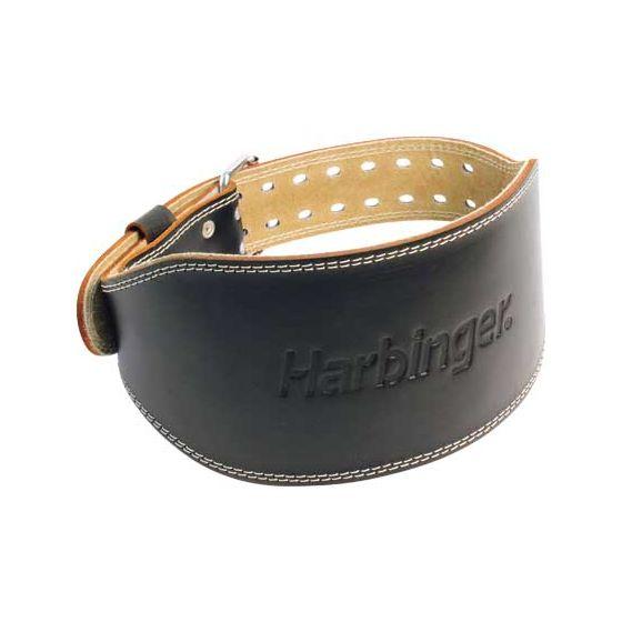 """Harbinger 6"""" Padded Leather Belt"""