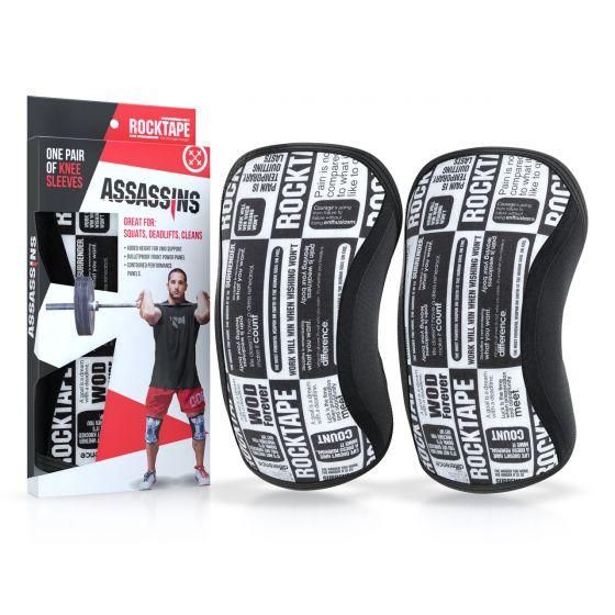 Rocktape Knee Sleeves - Manifesto Assassins - 5mm
