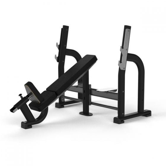 OLYMPIC INCLINE BENCH GREY