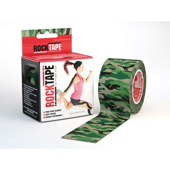 Rocktape Green Camouflage