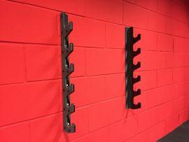 Wall Mounted Bar Rack - Black